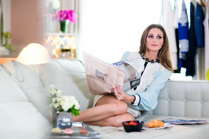Modelis Olivia Palermo
