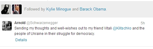 "Twitter iliustr./Arnoldo Schwarzeneggerio laiškas ""Twitter"""