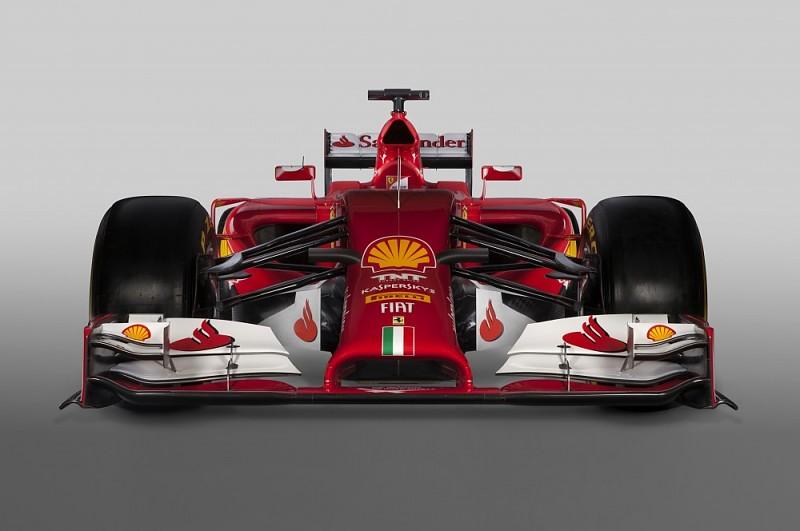 """Ferrari F14 T"" bolidas"