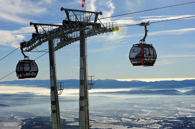 Aukštieji Tatrai tai aukščiausios kokybės vieta