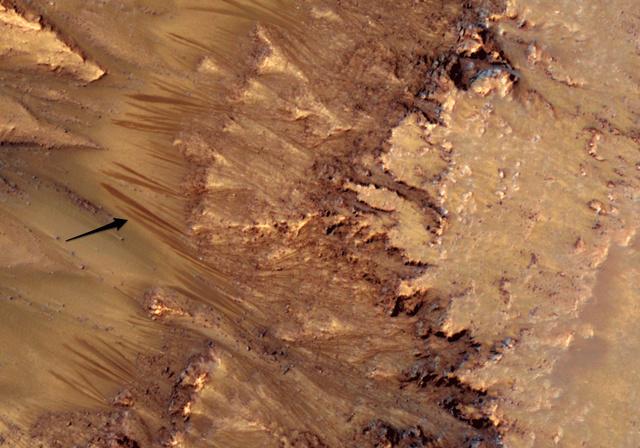 NASA mokslininkai nežino, kaip vagelės Marso paviršiuje galėjo atsirasti be skysto vandens