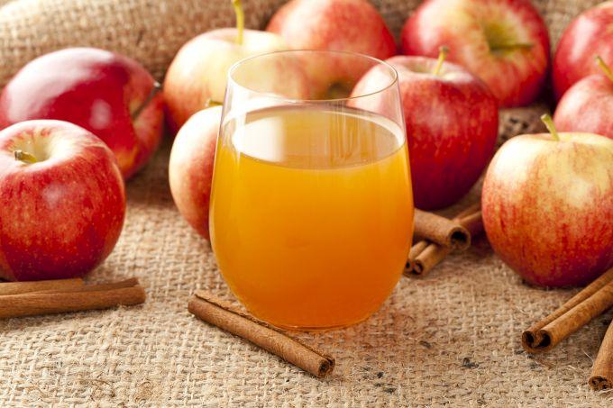Obuolių sultys kovoja su peršalimu