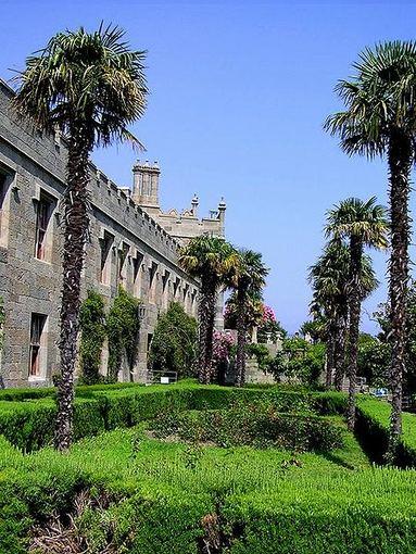 wikimedia.org nuotr./Rūmai Alupkoje