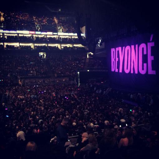 Asmeninio albumo nuotr./Beyonce koncertas Londone