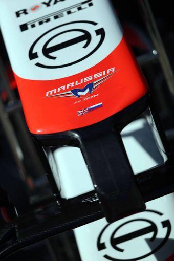 """Scanpix""/""LaPresse"" nuotr./""Marussia"" formulės priekis"
