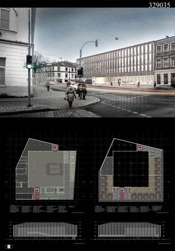 Lietuvos architektų sąjungos nuotr./MMC ir biurų pastato Vilniuje konkurso darbai