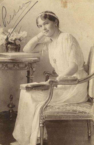 wikimedia.org nuotr./Romanovų dinastijos Rusijos caro Nikolajaus II dukra Olga