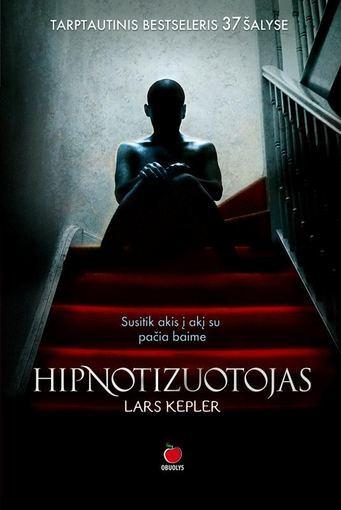 """Knygos viršelis/""""Hipnotizuotojas"""""""
