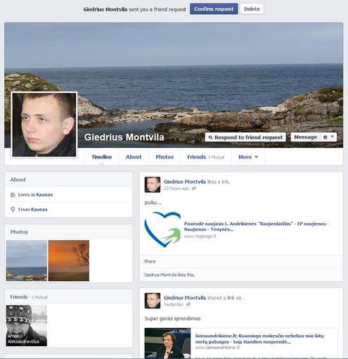 Ryčio Zalogos blogas/FB/Giedrius Montvila