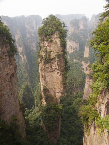 Fotolia nuotr./Tianzi kalnai, Kinija