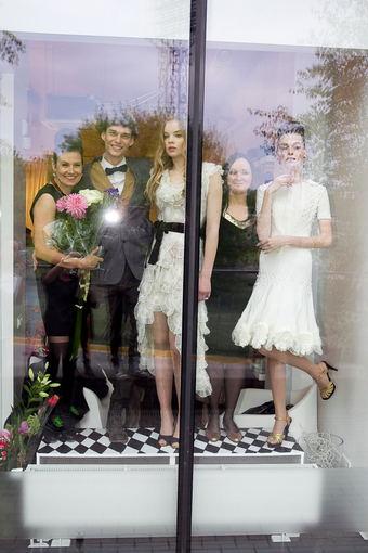 Viganto Ovadnevo/Žmonės.lt nuotr./Indra Dovydėnaitė, Dovas Serapinas ir Rūta Rimšelienė