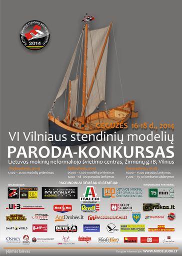 6-asis Vilniaus stendinių modelių konkursas