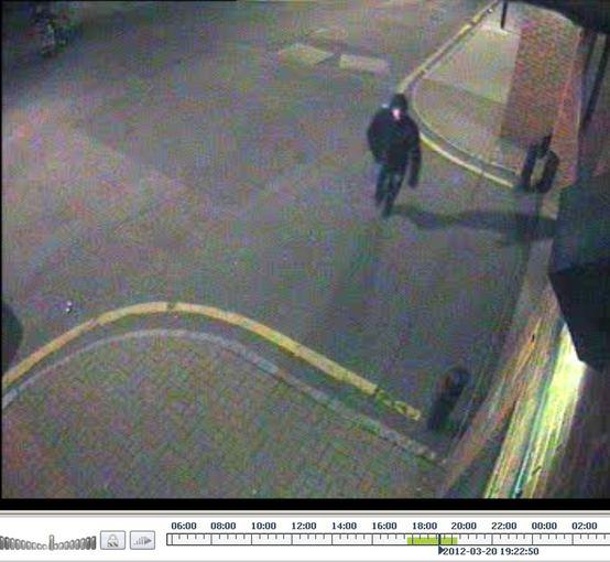 """""""Scanpix"""" nuotr./Vaizdo kamerų užfiksuotas žmogus, pasikėsinęs į G.Gorbuncovą"""