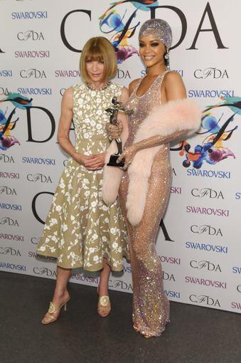 "AFP/""Scanpix"" nuotr./Anna Wintour ir Rihanna"