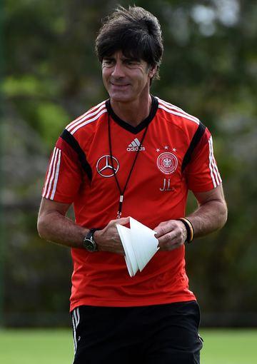 """AFP/""""Scanpix"""" nuotr./Vokietijos futbolo rinktinės treneris Joachimas Loewas."""