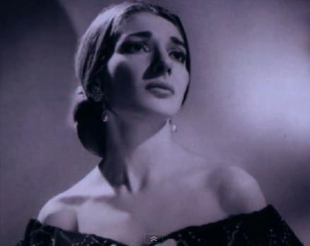 Stop kadras/Maria Callas