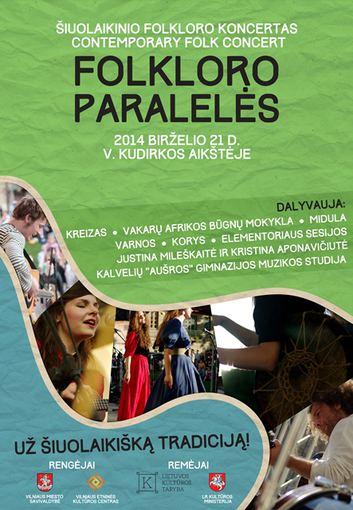 Žolynų turgus, folkloro paralelių koncertas