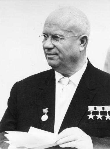 """Nuotr. iš """"Wikipedia""""/Nikita Chruščiovas"""