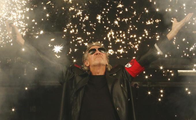 """""""Reuters""""/""""Scanpix"""" nuotr./Vienas iš """"Pink Floyd"""" įkūrėjų Rogeris Watersas"""