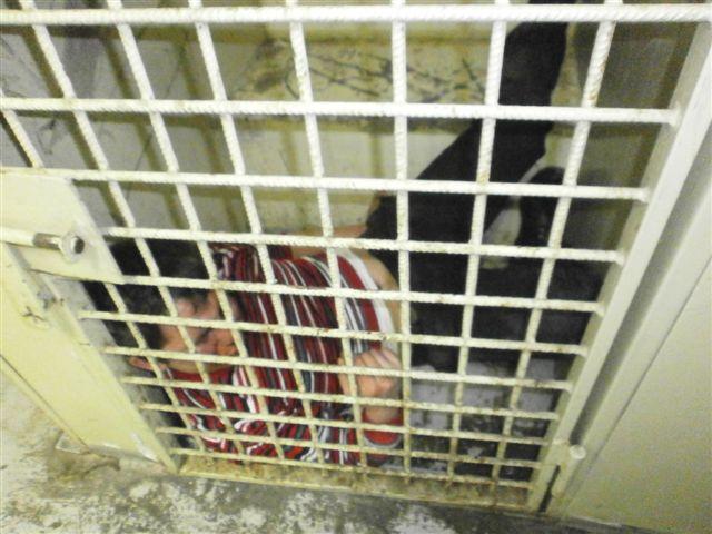 Asociatyvinė iliustracija: areštinėje