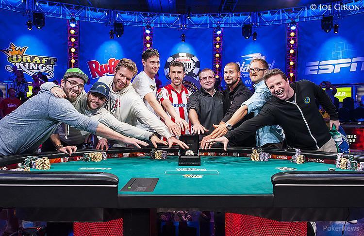 """""""Lapkričio devynetas"""" – 9 toliausiai WSOP pagrindiniame turnyre žengę dalyviai"""