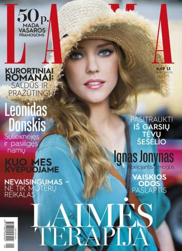 """Viršelis/Žurnalo """"Laima"""" rugpjūčio mėnesio numeris"""