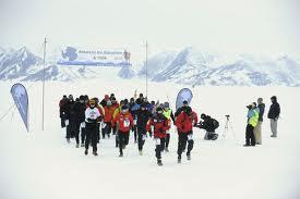 amazingstuff.co.uk nuotr./Antarktikos ledo maratonas (Antarctic Ice Marathon)