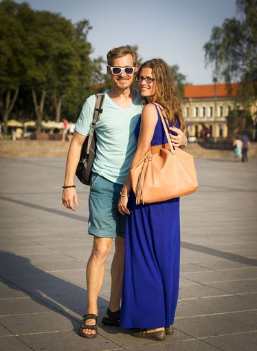 Irmanto Gelūno/15min.lt nuotr./Vasaros mados Vilniaus gatvėse.