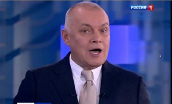 Rusijos propagandistas Dmitrijus Kiseliovas