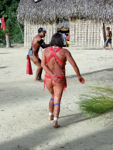 Gyčio Juodpusio nuotr./Lietuvio apsilankymas atokioje Amazonės gentyje