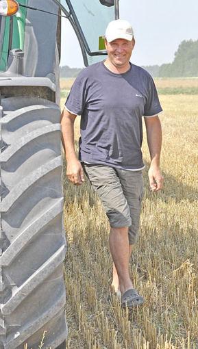 Šukės ūkininkas Artūras Turauskis