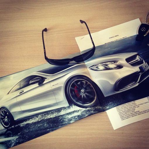 "Asmeninio albumo nuotr./Egidijus Dragūnas svajoja apie ""Mercedes-Benz S-Class Coupe"""