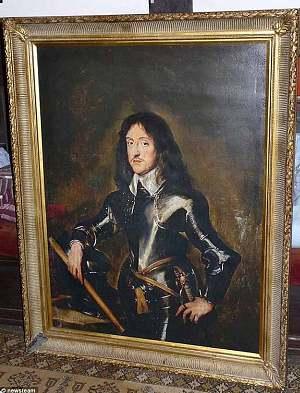 Pavogtas Oliverio Cromwellio paveikslas