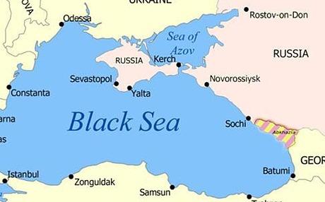 """""""Twitter"""" nuotr./Rusijos žemėlapis"""