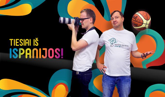 15min.lt žurnalistai Paulius Cubera ir Modestas Krukauskas