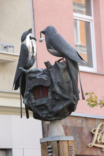 Artūro STAPONKAUS nuotr./Skulptūra Šiauliuose