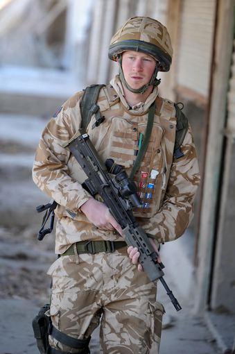 "AFP/""Scanpix"" nuotr./Princas Harry Afganistane (2008 m.)"