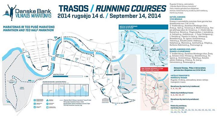 Vilniaus maratono trasa