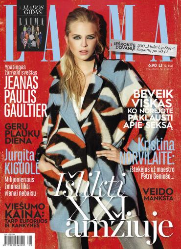 """Žurnalo """"Laima"""" spalio mėnesio numeris"""