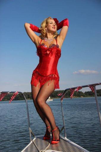 Asmeninio albumo nuotr./Burleskos šokėja Eglija Vaitkevičė