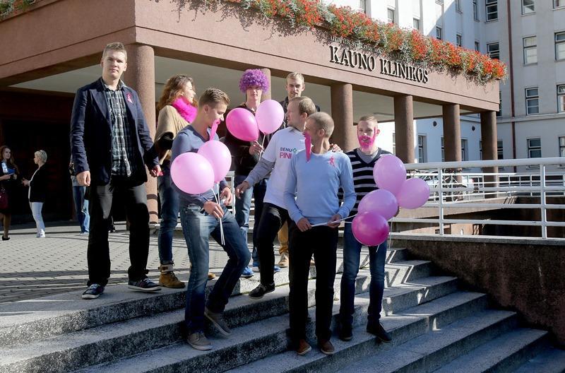 Kaune vyks bėgimas prieš krūties vėžį