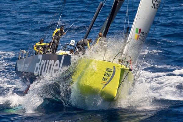 "Rokas Milevičius ir ""Brunel"" komanda ""Volvo Ocean Race"" lenktynėse"