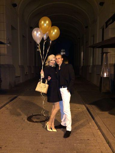 Asmeninio albumo nuotr./Inga Stumbrienė su vyru Aivaru Stumbru