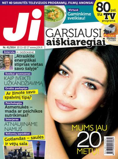 """Redakcijos archyvo nuotr./2014 m. spalio mėnesio žurnalo """"Ji"""" Nr. 41"""