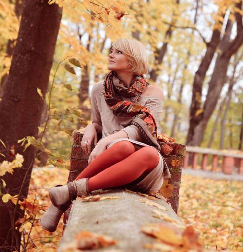 Ji24.lt skaitytojos nuotrauka/Ilonos S. rudeninis stilius