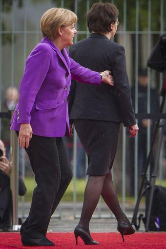 "AFP/""Scanpix"" nuotr./Lenkijos premjerės Ewos Kopacz skandalingas vizitas Berlyne"