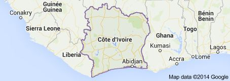 Dramblio kaulo krantas - arti nuo Ebolos viruso kenčiančių šalių