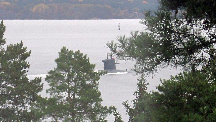 Neatpažintas povandeninis laivas prie Švedijos krantų