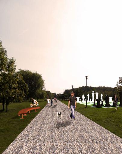 Architektas Edgaras Janutauskas siūlo įrengti modernius ir ilgaamžiškus suoliukus, nutiesti gruntuotus takelius