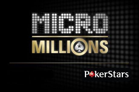 MicroMillions pokerio kovos